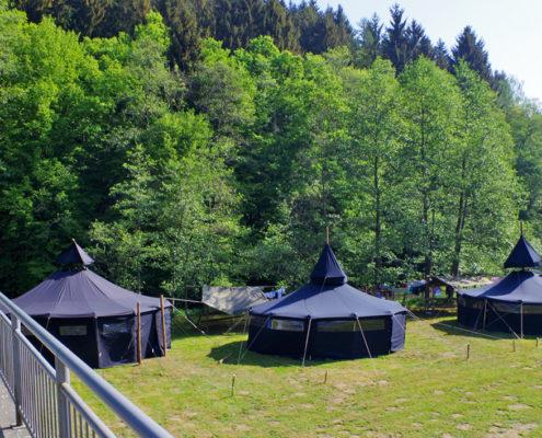 Jugendzeltplatz Wilhelmsteg, Campingplatz Heuzert